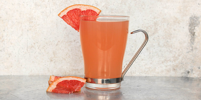 Grapefruit Hot Toddy courtesy of  Vinepair