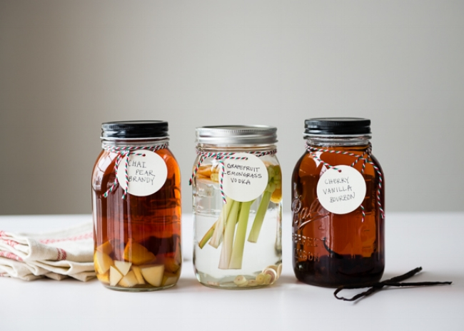 DIY-Infused Spirits: a delicious and thoughtful gift.