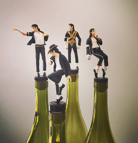 King of Pop Wine Stopper, $19.99 @ The Decorative Company