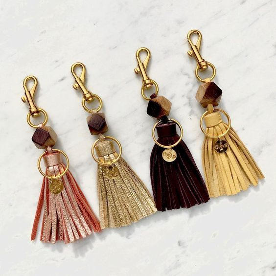 Wine Barrel Keychain, $28 @ Olive & Poppy