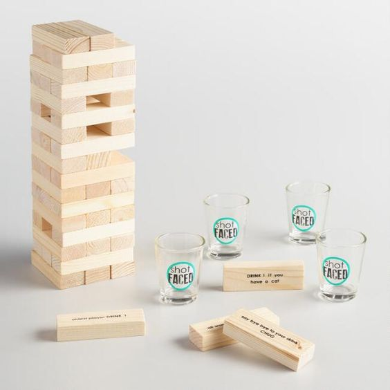 Tipsy Tower Drinking Game, $14.99 @ World Market