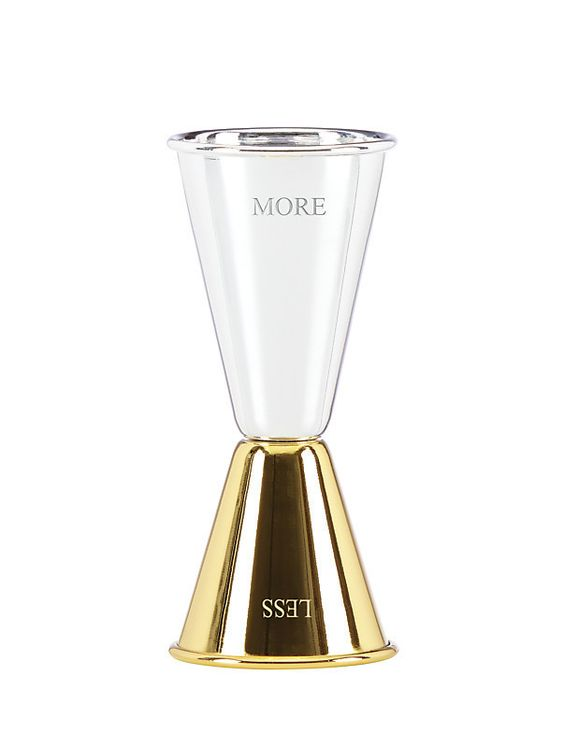 Less Is More Jigger, $20 @ Kate Spade