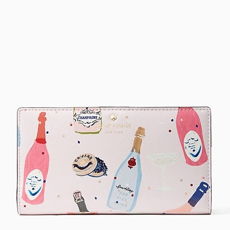 'Finer Things' Wallet, $100 @ Kate Spade
