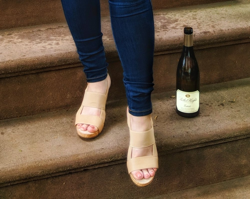 How to Pair Wine and Shoes