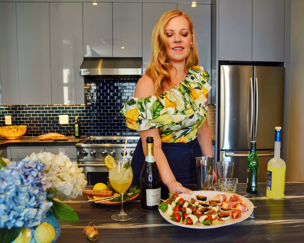 Sommelier Sarah Tracey of The Lush Life shows how to create a summer aperitivo party