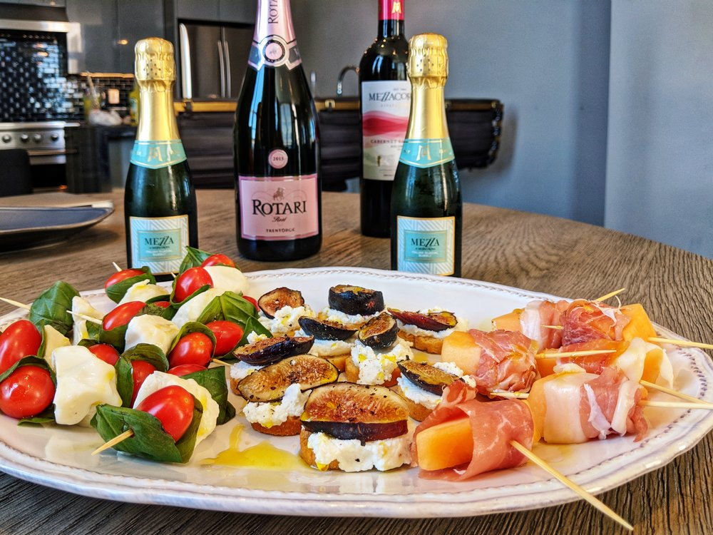 The Lush Life loves Mezzacorona and Rotari wines for an Aperitivo party