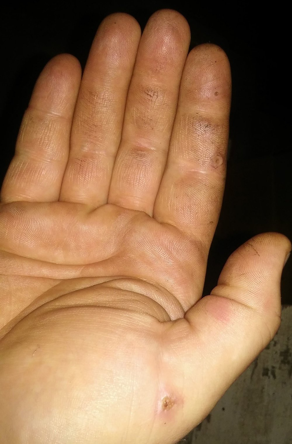 The hand of a Blacksmith and a Gamer!