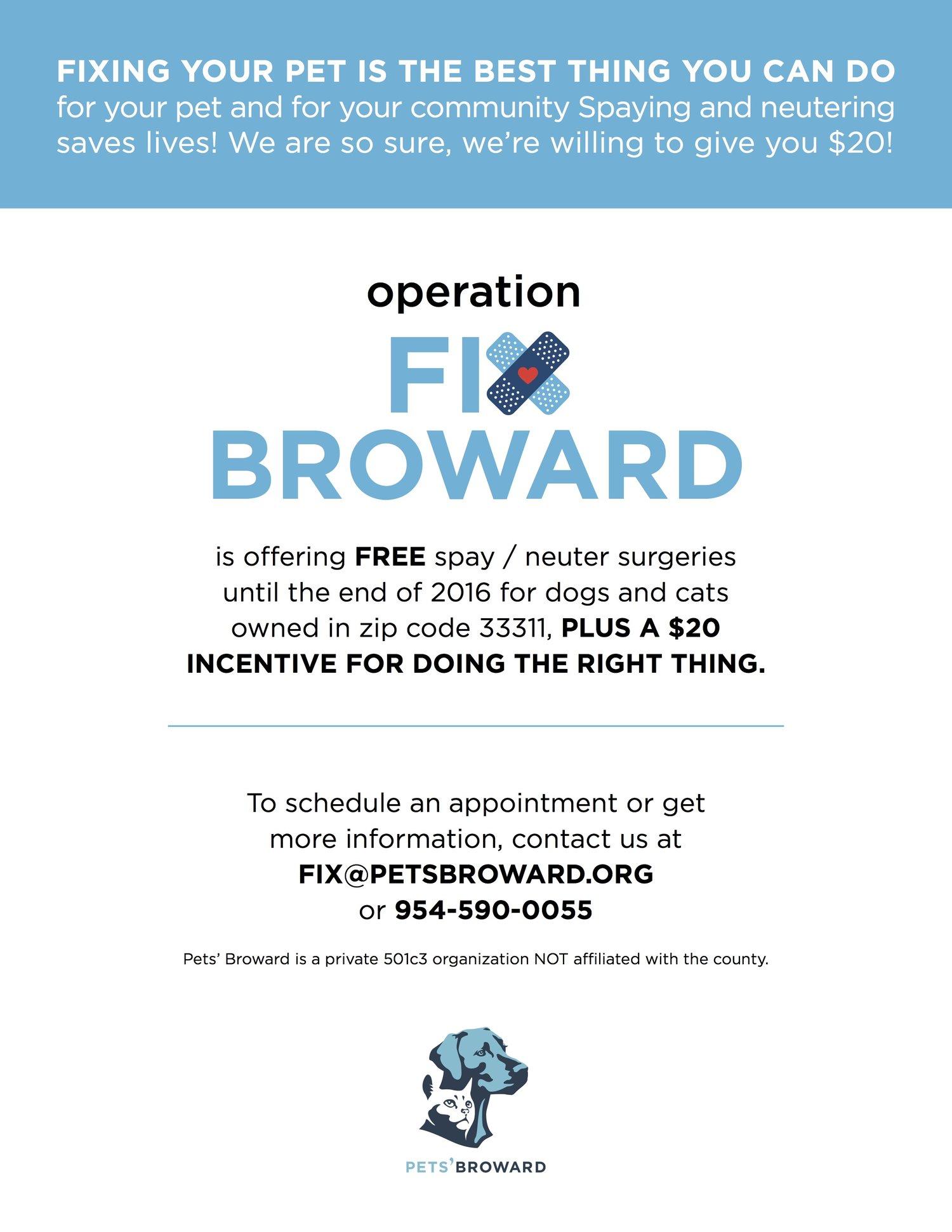 PETS BROWARD Flyer  Direct Mailer  Jessica Shokler Designs - Us zip codes plus 4