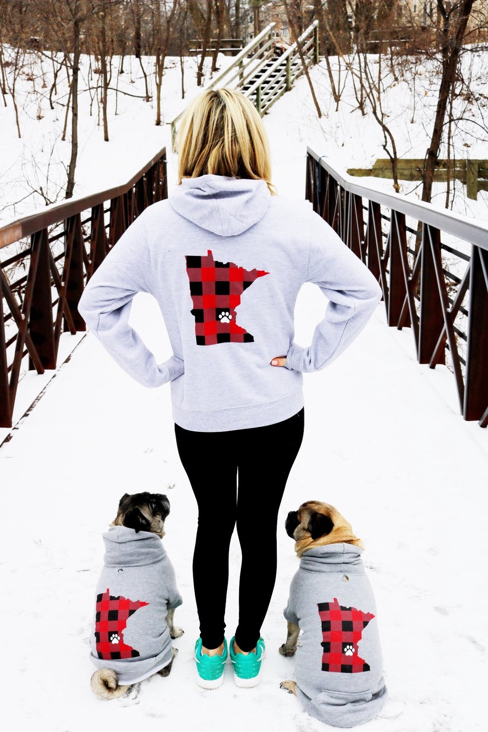 Sam and Pugs Matching Hoodies.JPG