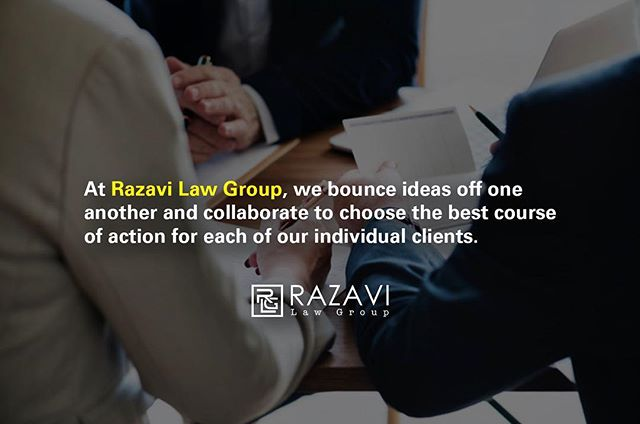 Razavi Law Group is specifically tailored for the clients' experience. #letyourvoicebeheard