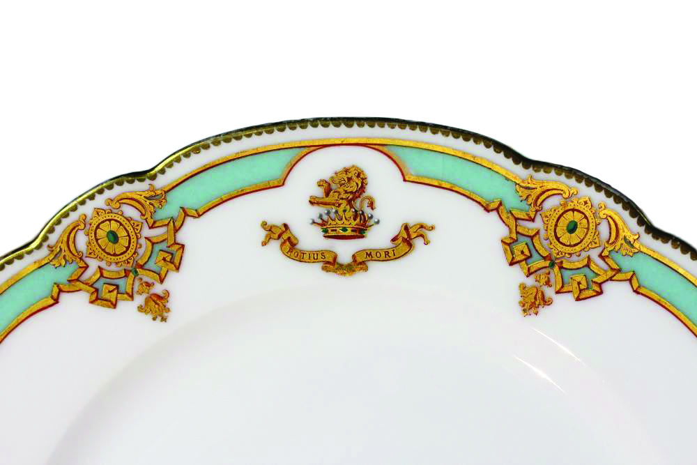 custom-dinnerware  sc 1 st  Atelier Soubiran & Bespoke French Porcelain and Customized Dinnerware A Tradition ...