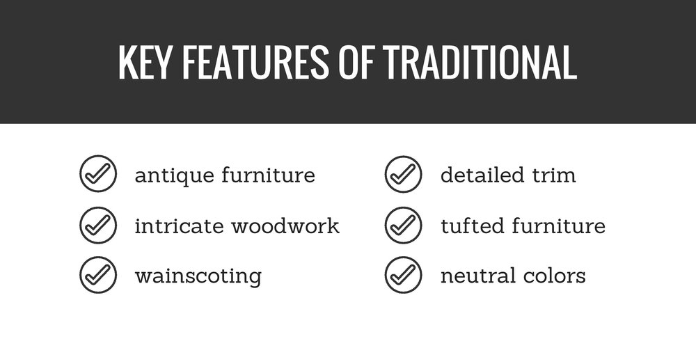 key features of traditional