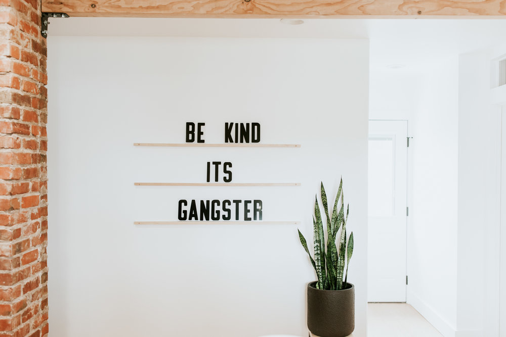 be kind it's gangster - full modern kitchen tour