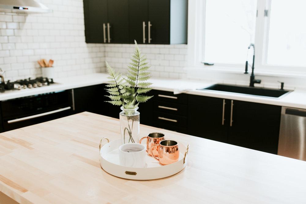 modern kitchen sources - Ikea kungsbacka cabinets, subway tile, modern decor