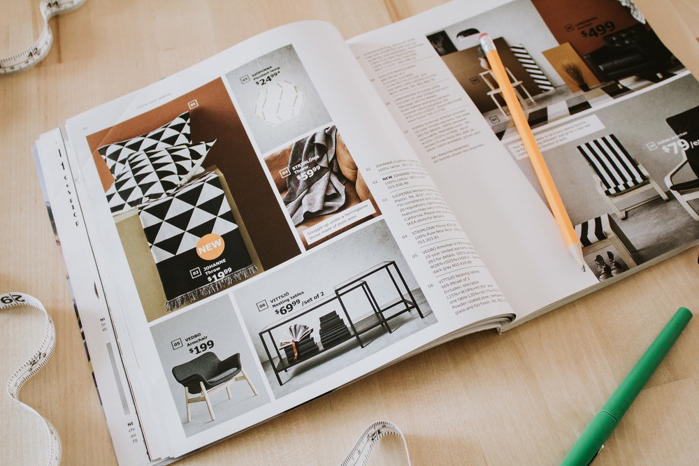 my top 10 picks from the 2019 Ikea catalog - new furniture, decor, and textiles that I'm loving!