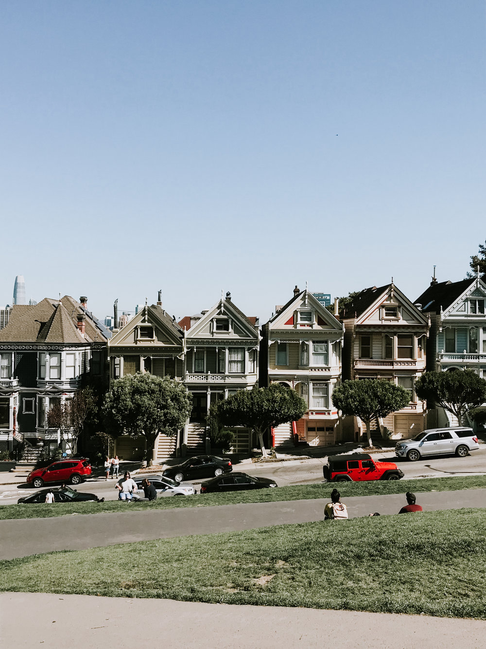 Our trip to San Francisco - the painted ladies