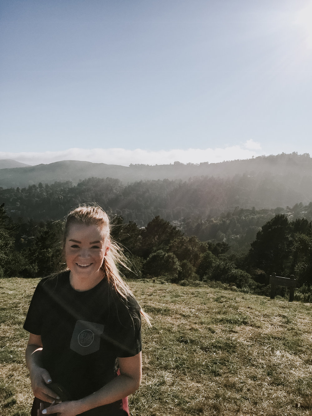 our trip to San Francisco - hiking in the mountains of Mill Valley