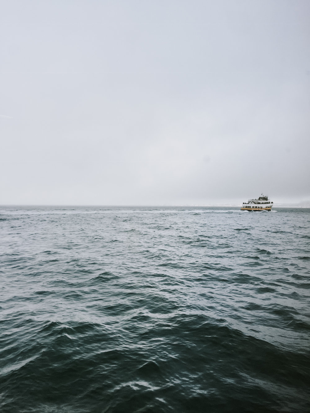 our trip to San Francisco - taking a ride of the ferry boat across the San Francisco bay
