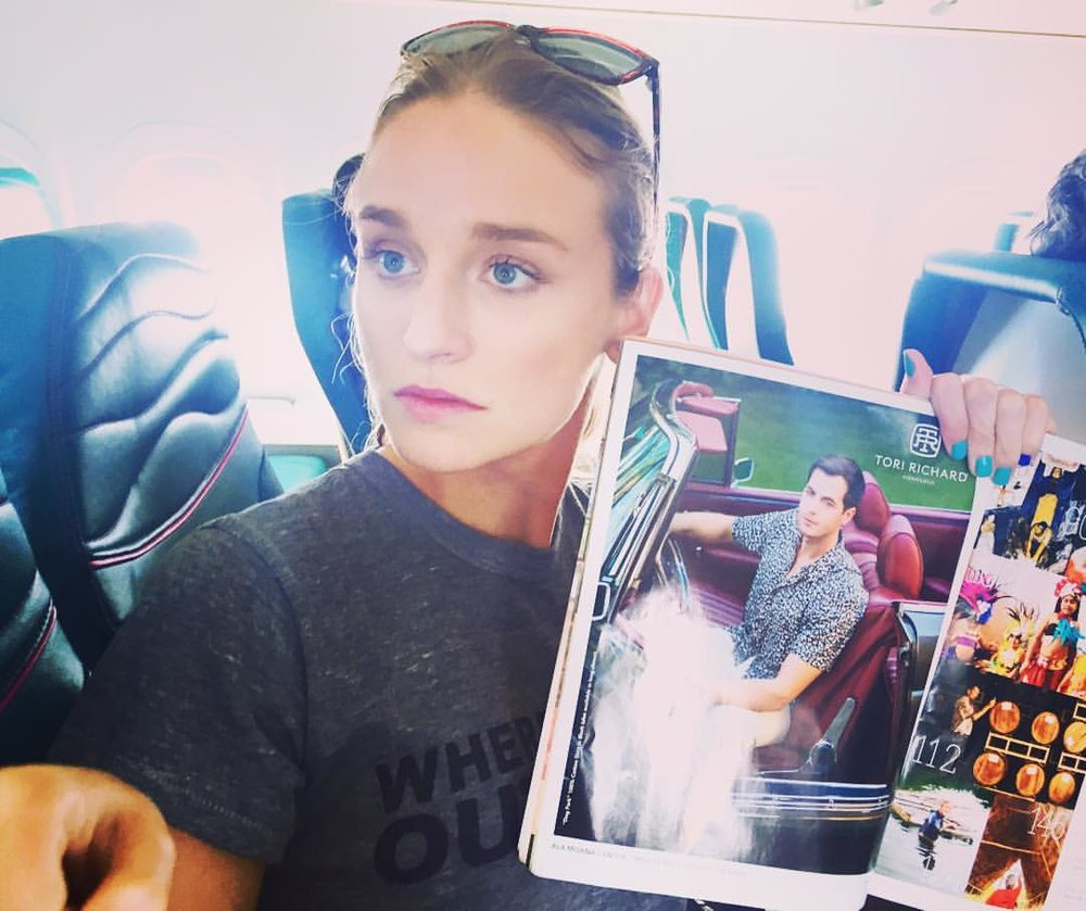 Always nice to #fly with a friend. #whatdoyouthink did I get his #pose right? #modelproblems @lamodelsrunway