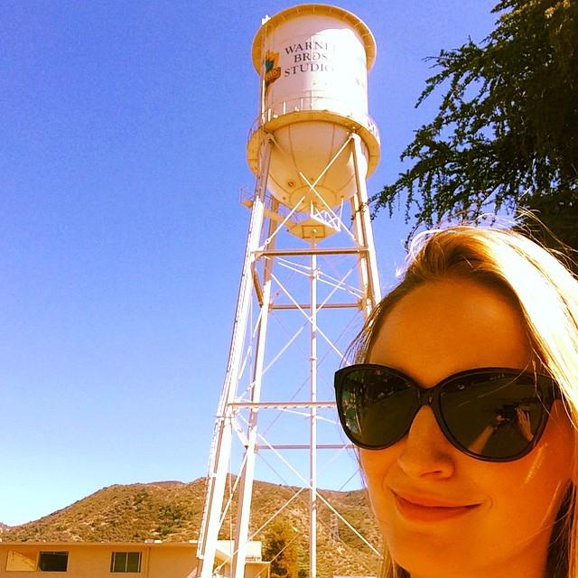 #warnerbrothersstudio #adr #bernie&rebecca #melissakent #actress #actorlife @discovermgmt (at Warner Brothers Studios)