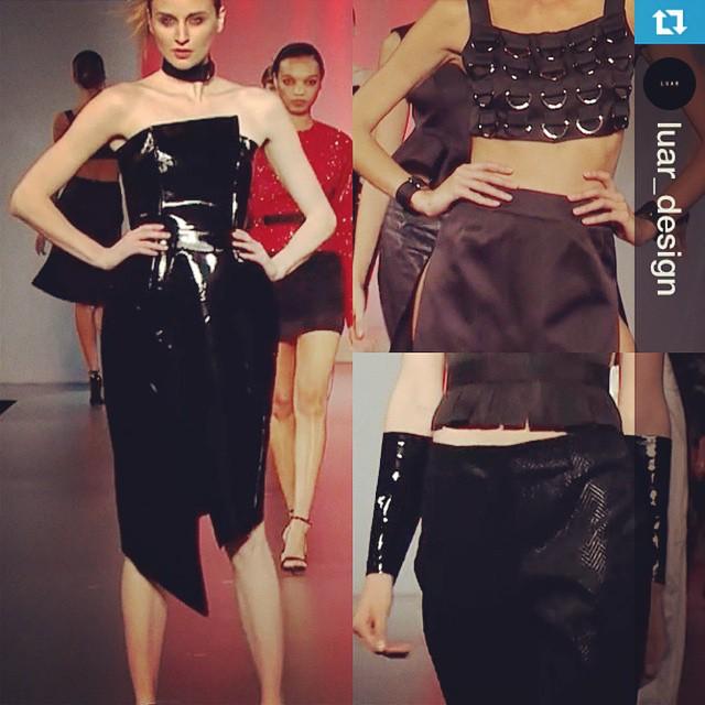 Dodge this… L U A R ss 16 #fashion #design #fidm #fidmdebut #fidmcollege #fidmdebut15 #fidmdebut2015 #fashionweek #art @lamodels
