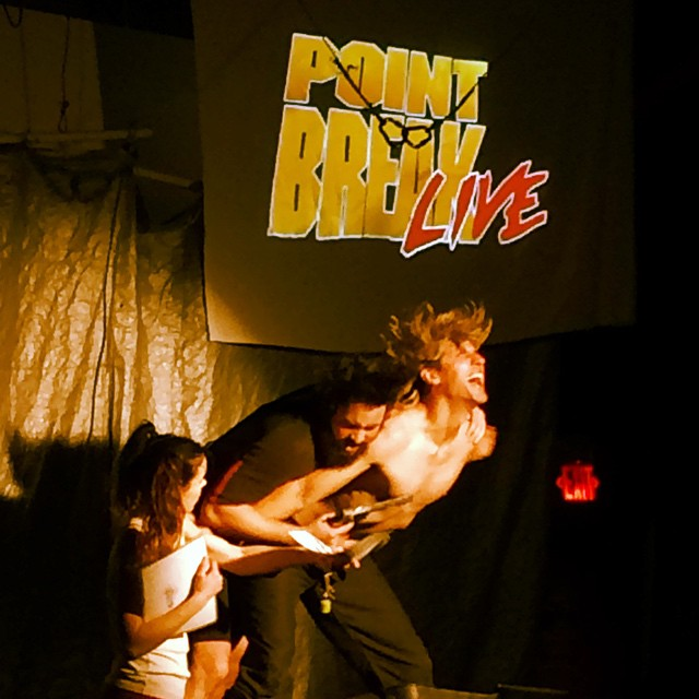 @pointbreakla #johnnyutah #patrickswayze #keanu #happybirthday @bethy.dorf 'it was totally radical brah'