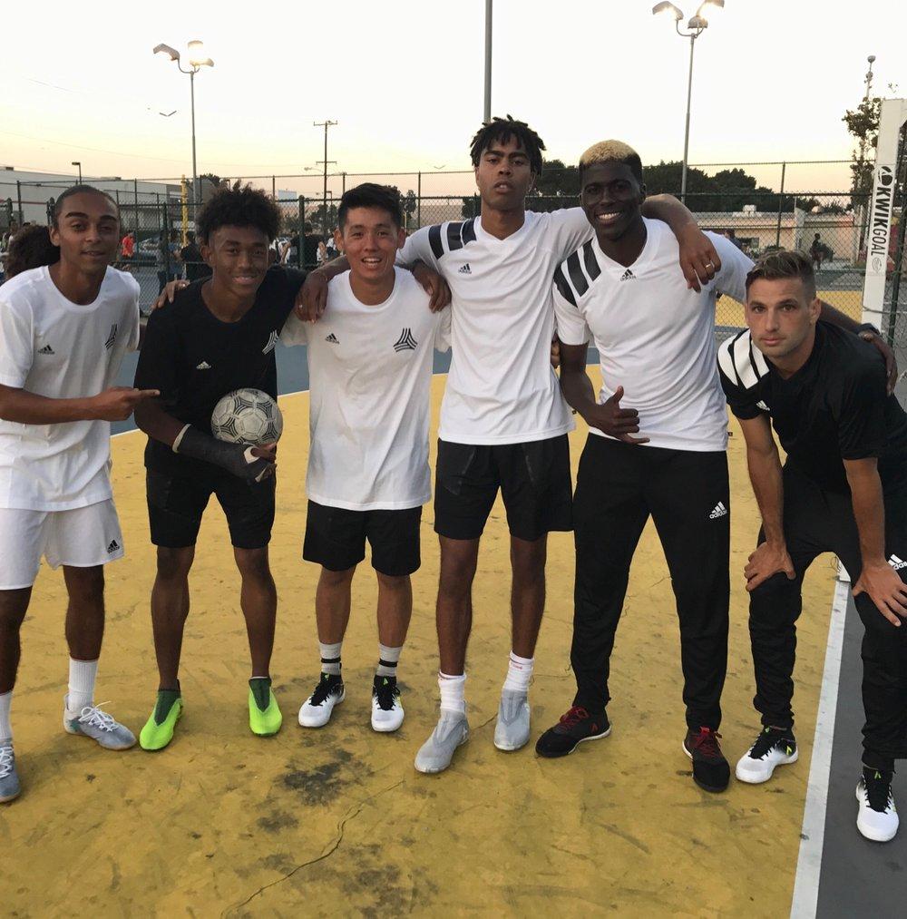 Kniko, Nigel, Kota, Joey, Gyasi & Tim