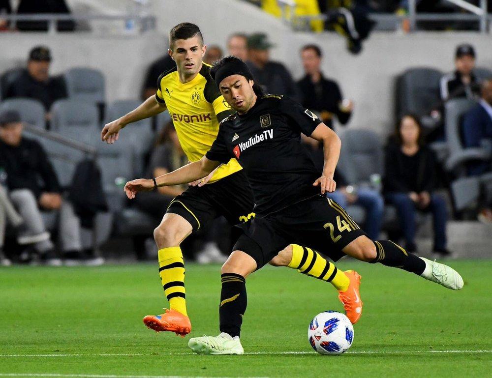 LAFC & Us national team - Lee nguyen
