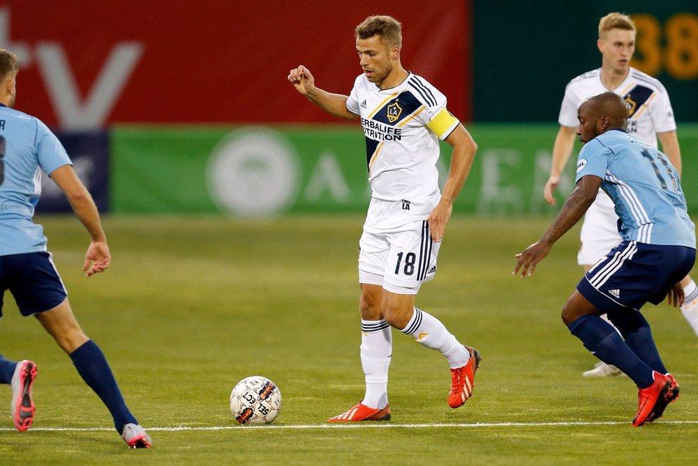 LA Galaxy ii captain - julian büscher