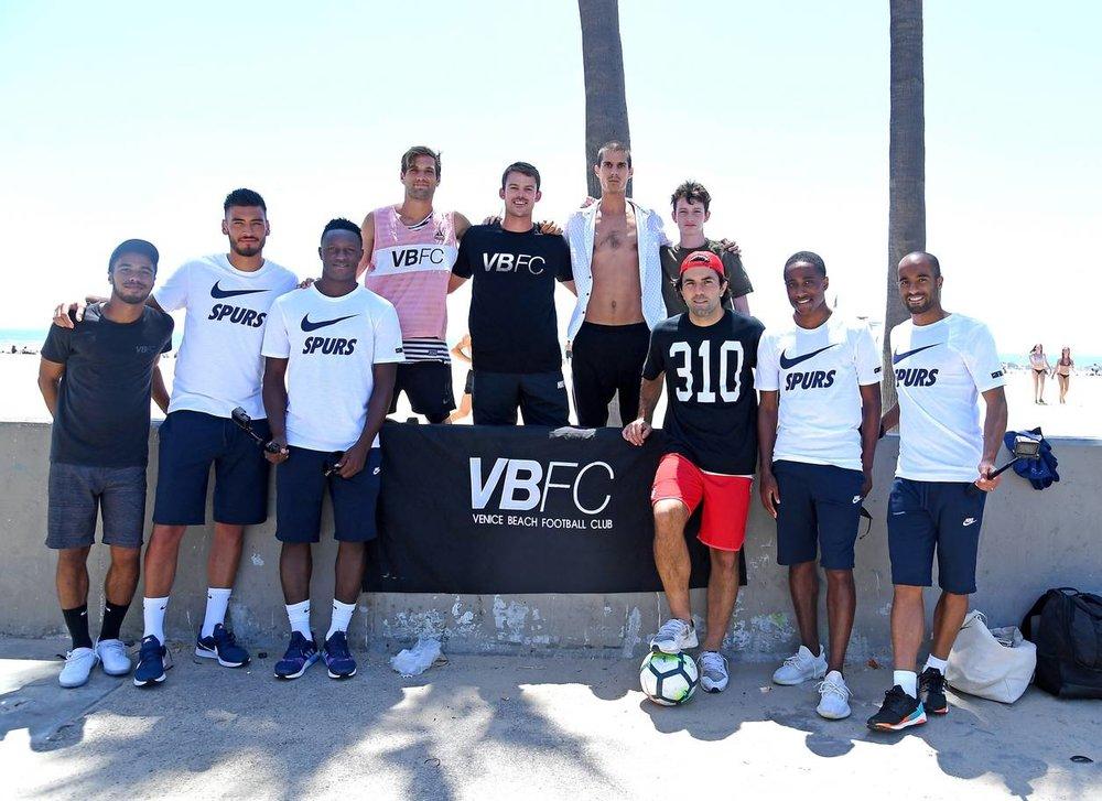 Spurs Players : Paulo Gazzaniga, Victor Wanyama, Kyle Walker-Pieters, Lucas Moura.
