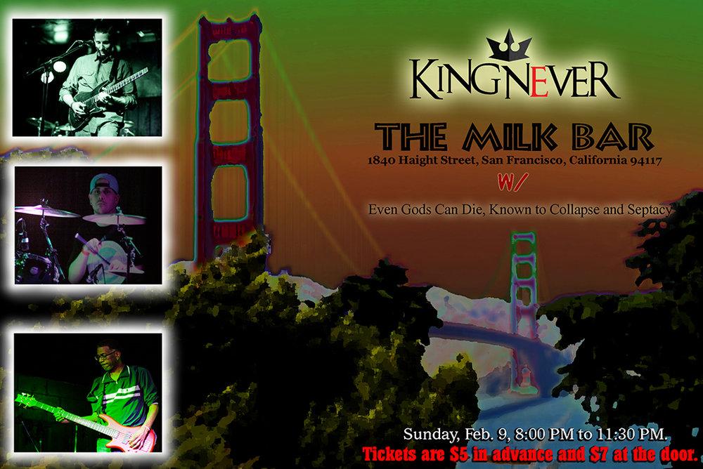 Milk Bar flyer