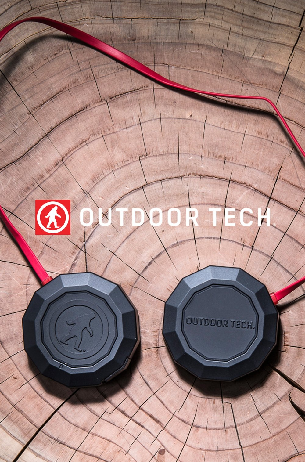 Outdoor Tech:  Identity, Web, Product, Packaging, Exhibits, Brand Strategy