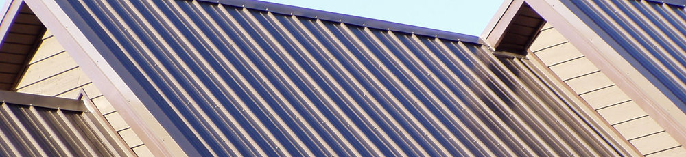 Metal Roofing.   We offer several colors   and styles to choose from.