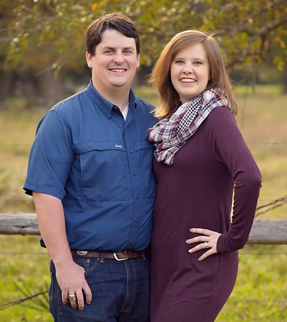 Jonathan Barrow, Owner, & wife, Caitlyn