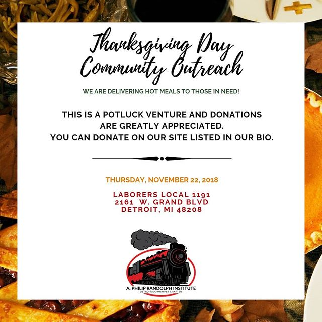 THANKSGIVING IS COMING! Help us spread some goodness by donating to our Thanksgiving Day Community Outreach! Swipe for all of the details!!