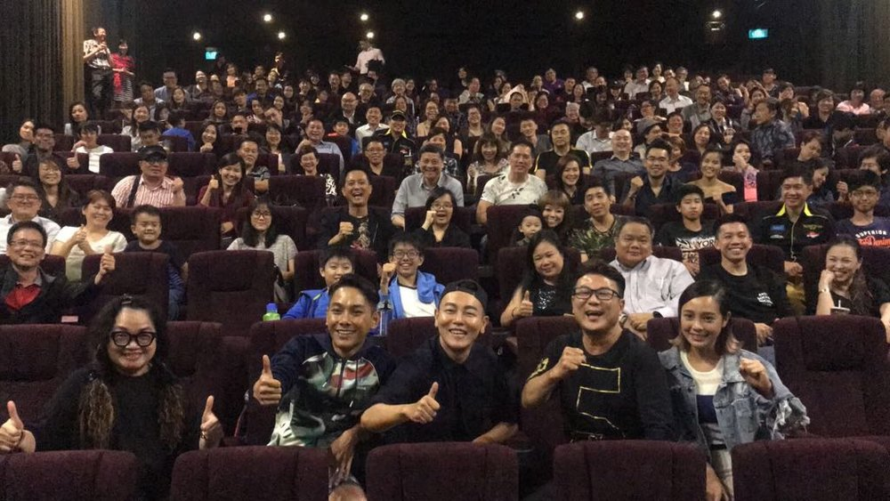 Screening at GV Suntec City Auro 11.1 hall.