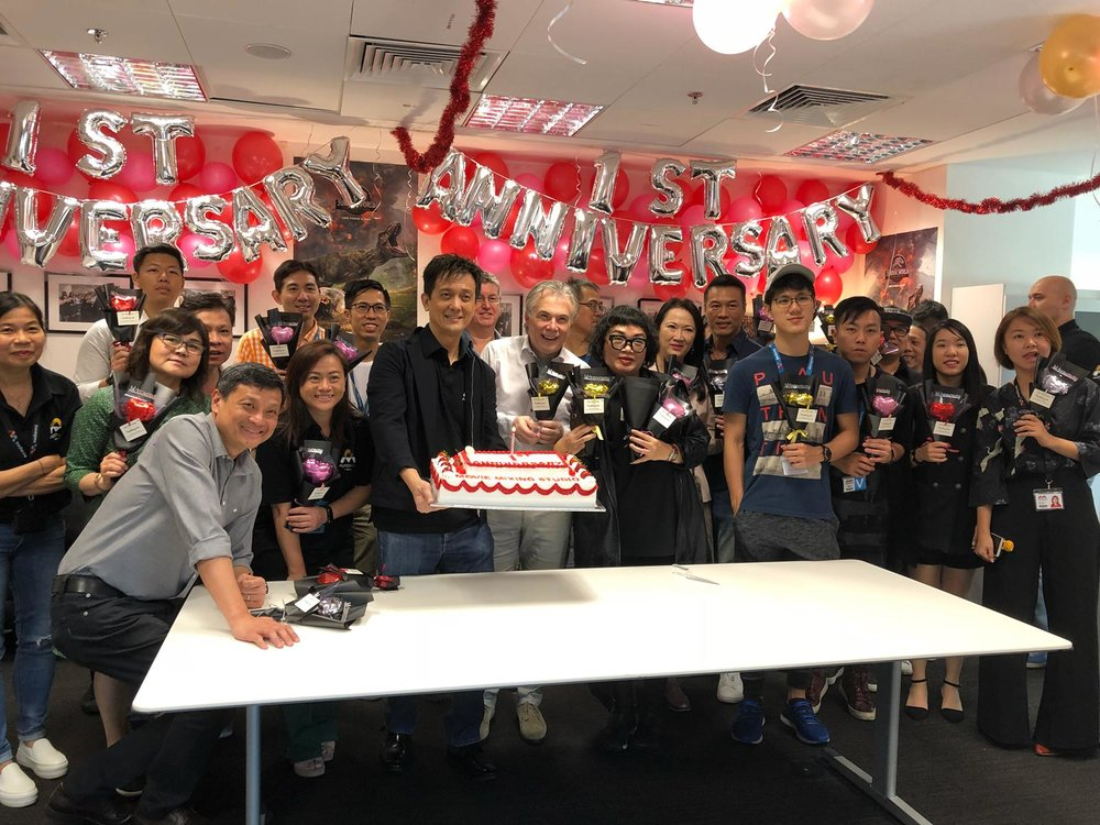 Mediacorp Movie Mixing Studio  marked its first anniversary .