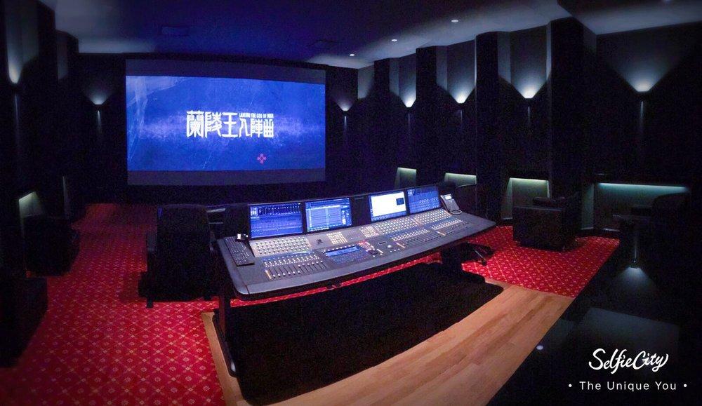 Mediacorp Movie Mixing Studio.