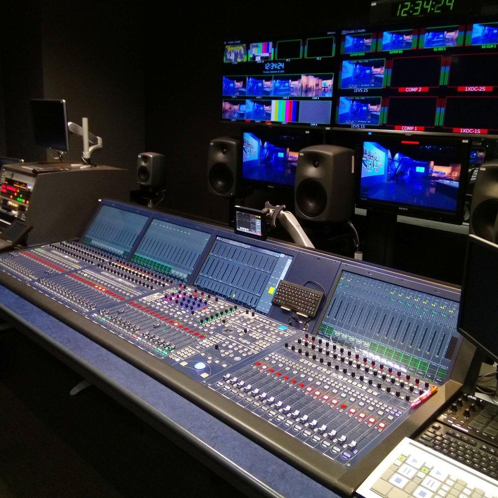 Lawo console in Studio 1