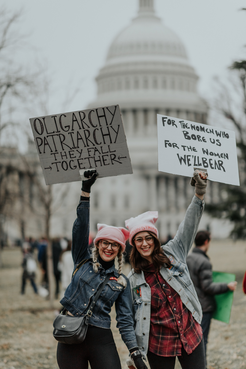 Women's March, 2017 | Photo Source: Madeline Hiesing Photography