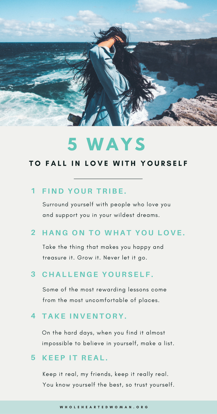 5 Ways To Fall In Love With Yourself Molly Ho Studio