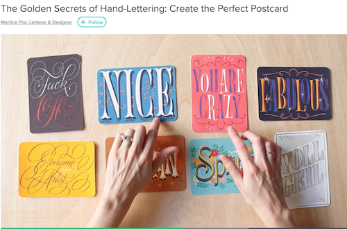7 Hand Lettering Tutorials and Videos | Online Lettering Classes | How To Hand Letter For Beginners | Where To Learn Hand Lettering Online | DIY Tutorials | Hand Lettering For Beginners | Where To Learn Hand Lettering | Creativity | Skillshare Online Courses | Hand Lettering For Beginners