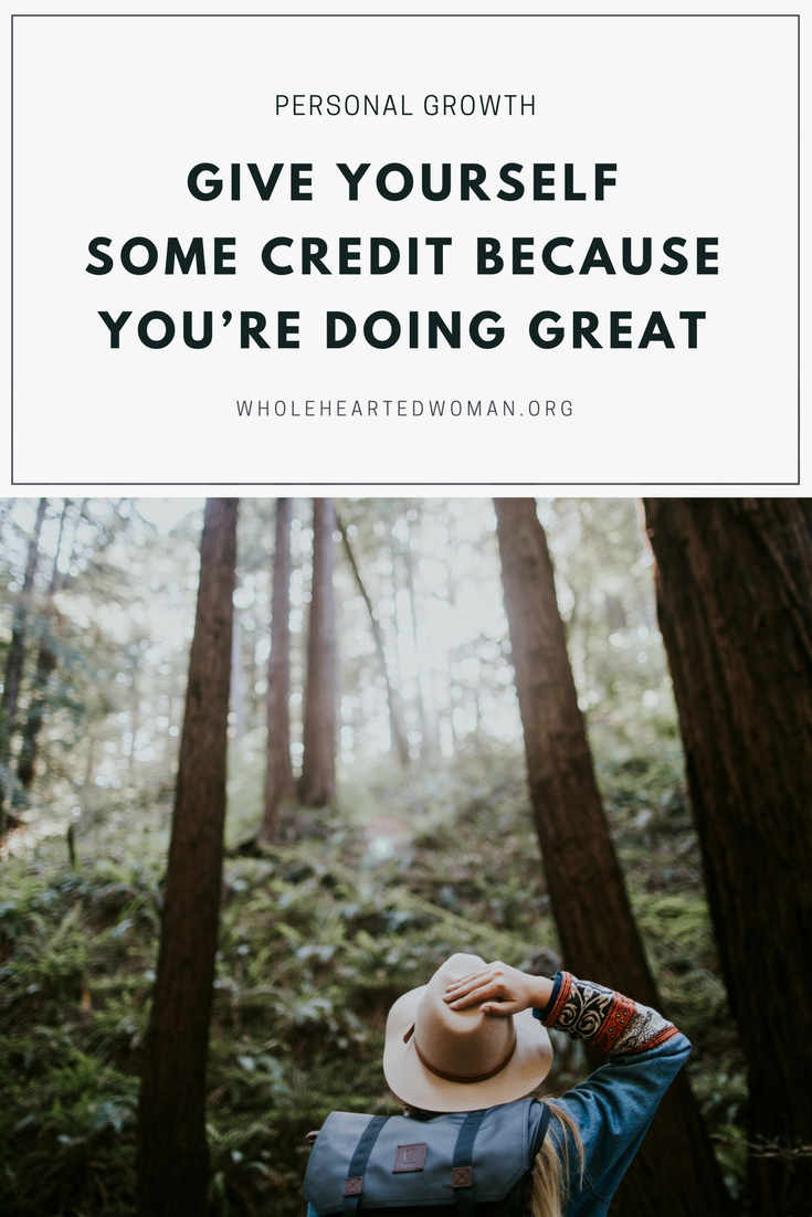 Give Yourself Some Credit Because You're Doing Great | Life Advice | Personal Growth and Development | Mindfulness and Mindset | Self-Care | How To Take Care of Yourself | Entrepreneurship