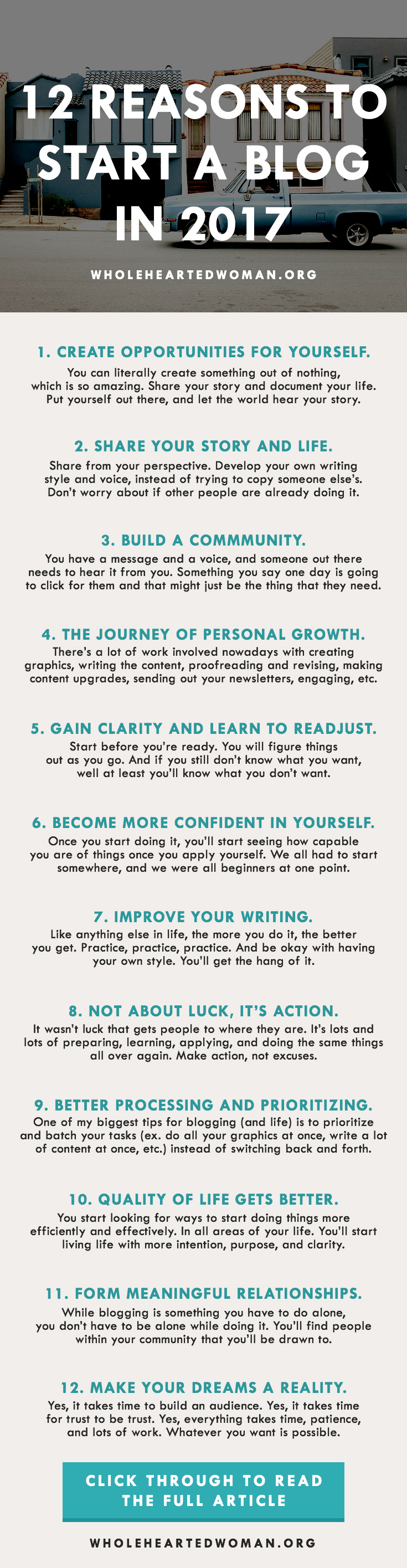 12 Reasons To Start A Blog In 2017 | How To Start A Blog | Why You Should Blog | How Blogging Can Help You | Personal Growth And Development Blog | Self-Discovery | Lifestyle | Blogging In 2017 | How To Create Your Own Opportunities In Life | How To Improve Your Life