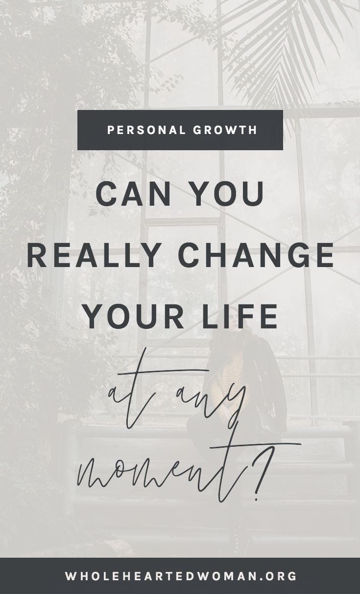 Can You Really Change Your Life At Any Moment | How To Change Your Life | How To Stop Running The Rat Race | How To Stop Feeling Behind In Life | Dealing With Imposter Syndrome and Shiny Object Syndrome | What To Do When You Are Having An Identity Crisis | Life Advice For Millennials | Self-Awareness | Personal Growth & Development | Mindfulness | Mindset | Wholehearted Woman |  #selfdiscovery  |  #personalgrowth  |  #selfhelp  |  #selfawareness