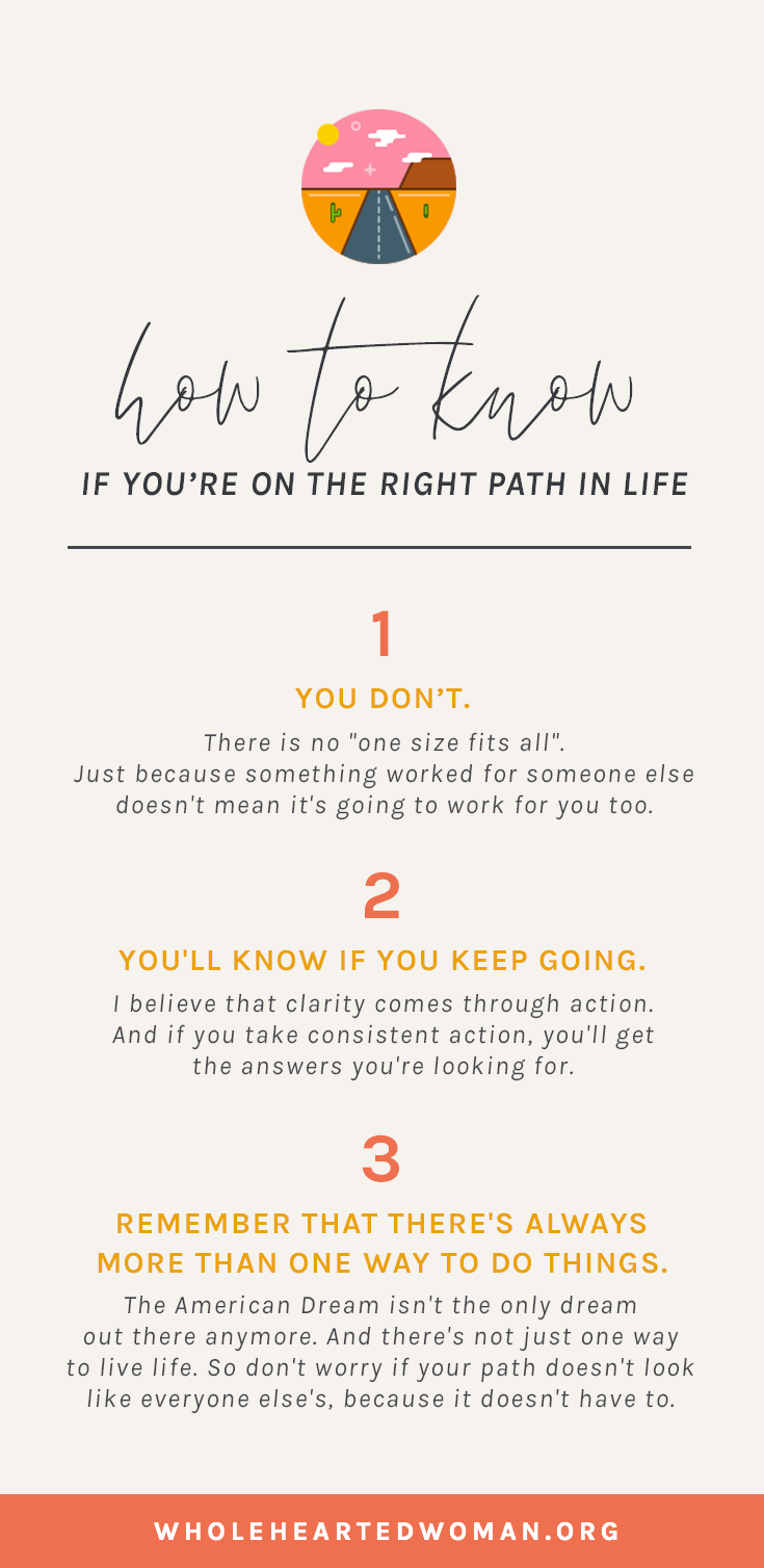 How To Know If You're On The Right Path | What To Do When You Have An Identity Crisis | Quarter Life Crisis | When You Feel Lost In Life | Life Advice For Millennials | Self-Awareness | Personal Growth & Development | Mindfulness | Mindset | Wholehearted Woman |  #selfdiscovery  |  #personalgrowth  |  #selfhelp  |  #selfawareness  |  #gratitude  |  #selflove
