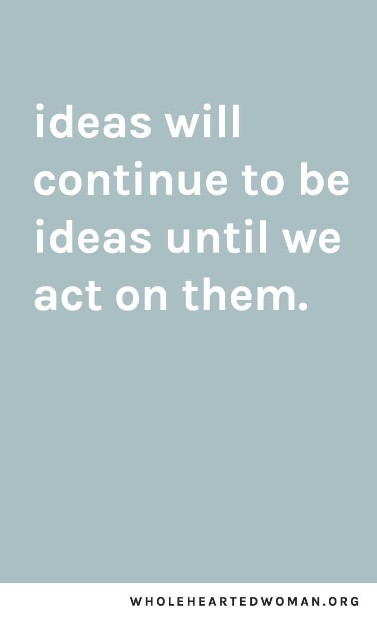 act-on-your-ideas