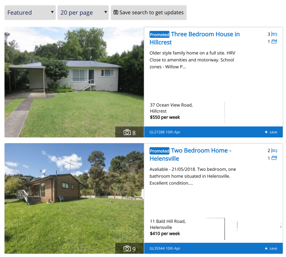 Promoted landlord paid advertising may become more prominent.