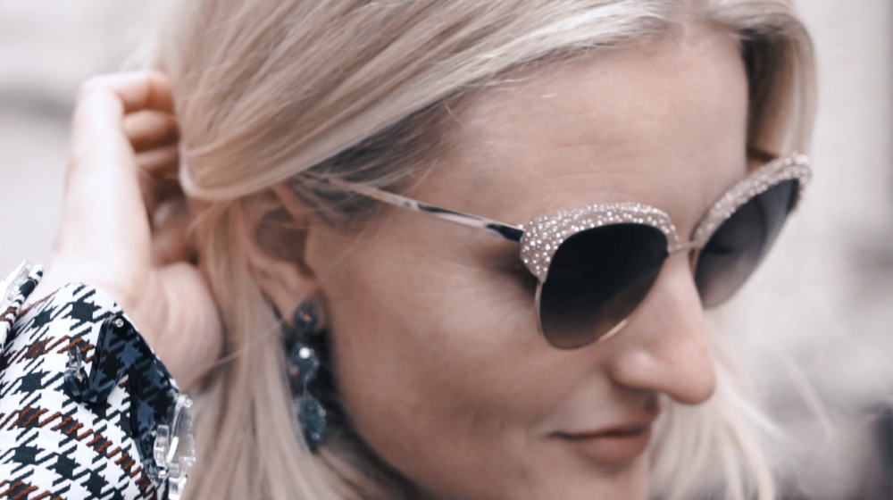 da480552517eb Influencer content we created for the Atelier Swarovski Eyewear line  featuring Candice Lake in London.