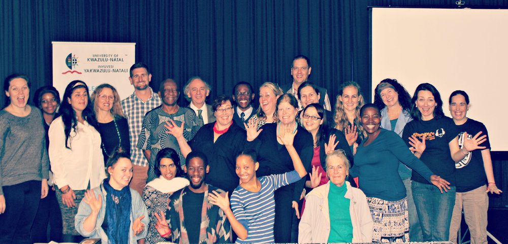 """Some of the delegates at """"Decolonising Shakespeare"""""""